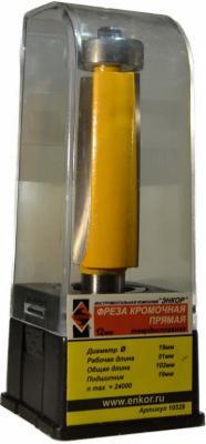 Фреза ЭНКОР 10529 кромочная прямая ф19х50.8мм хв12мм энкор 27