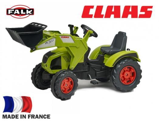 Купить FAL1011D Трактор-экскаватор педальный FALK FAL1011D зеленый 140см, Детская педальная машина