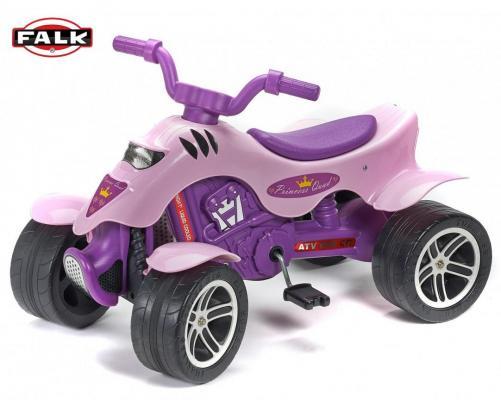 "FAL608 Квадроцикл ""Принцесса"" FALK FAL608 лиловый 84 см"