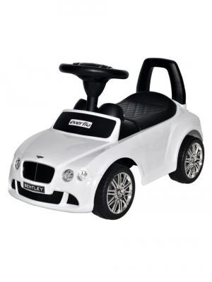 где купить Каталка-машинка Everflo Bentley Continental GT Speed EC-626 белый от 1 года пластик дешево