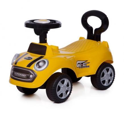 Каталка-машинка Baby Care Speedrunner желтый от 1 года пластик