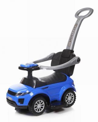 Каталка-машинка Baby Care Sport car синий от 1 года пластик каталка baby care cute car blue
