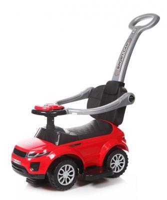 Каталка-машинка Baby Care Sport car красный от 1 года пластик каталка baby care cute car blue