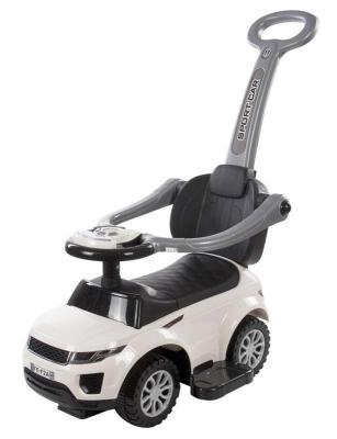 Каталка-машинка Baby Care Sport car белый от 1 года пластик каталка baby care cute car blue