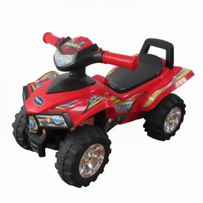 Каталка-квадроцикл Baby Care Super ATV красный от 1 года пластик