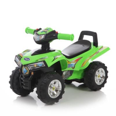 Каталка-квадроцикл Baby Care Super ATV зеленый от 1 года пластик