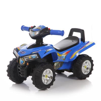 Каталка-квадроцикл Baby Care Super ATV синий от 1 года пластик