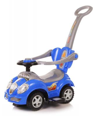 Каталка-машинка Baby Care Cute Car синий от 1 года пластик каталка baby care cute car blue