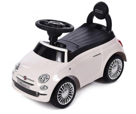 Каталка-машинка Baby Care Fiat 500 белый от 1 года пластик