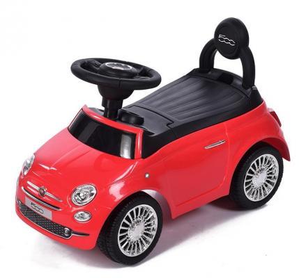 Каталка-машинка Baby Care Fiat 500 красный от 1 года пластик