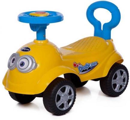 Каталка-машинка Baby Care QT Racer желтый от 1 года пластик