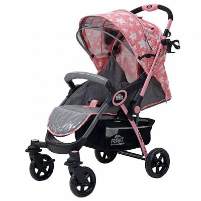 Коляска прогулочная Rant Jazz (stars pink) прогулочная коляска carmella princess pink