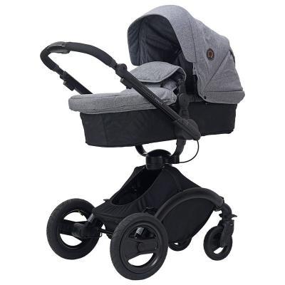 Коляска прогулочная Rant Omega Alu (grey melange) прогулочная коляска egg stroller quantum grey