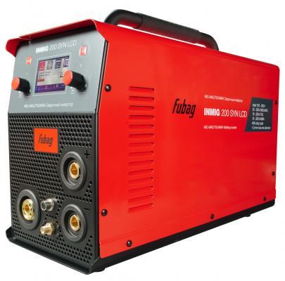 Сварочный полуавтомат_инвертор INMIG 200 SYN LCD (38430) + горелка FB 250_3 м (38443) сварочный аппарат fubag inmig 200 plus 38093 маска сварщика fubag optima 9 13
