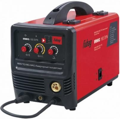 Сварочный полуавтомат_инвертор IRMIG 160 SYN (38641) + горелка FB 150_3 м (38440) сварочный полуавтомат fubag irmig 180 с горелкой fb 250 3 м
