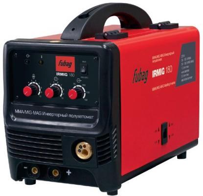 Сварочный полуавтомат_инвертор IRMIG 180 SYN (38642) + горелка FB 250_3 м (38443) сварочный полуавтомат fubag irmig 180 с горелкой fb 250 3 м
