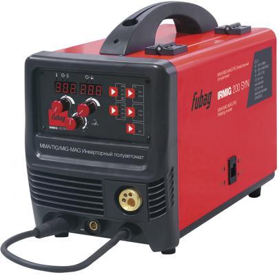 Сварочный полуавтомат_инвертор IRMIG 200 SYN (38643) + горелка FB 250_3 м (38443) сварочный полуавтомат fubag irmig 180 с горелкой fb 250 3 м