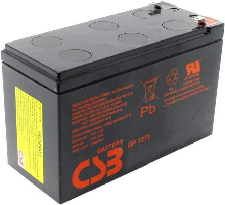 Батарея CSB GP1272 F1 12V/7.2AH батарея csb gp1245 12v 4 5ah
