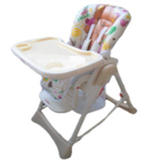 Купить Стульчик для кормления Baby Care Love Bear (light beige 18), бежевый, пластик, Стульчики для кормления