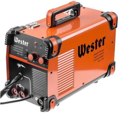 Сварочный полуавтомат инверторный WESTER MIG-140i MIG/MAG/MMA 40-140A 0.6-1.0 мм инверторный сварочный полуавтомат спец mag 135