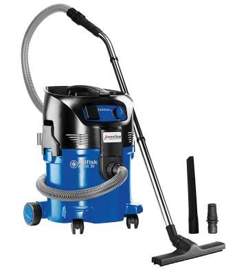 Промышленный пылесос Nilfisk ATTIX 30-21 PC сухая влажная уборка синий чёрный