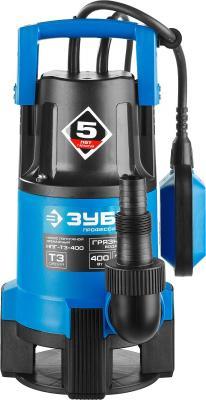 Насос ЗУБР НПГ-Т3-400 профессионал т3 погружной дренажный для грязной воды d частиц до 35мм 400Вт погружной дренажный насос grundfos unilift kp 250 a1