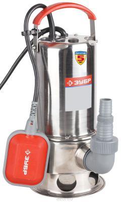 Насос ЗУБР ЗНПГ-550-С погружной 550Вт 200л/мин д/чистой воды насос погружной для грязной воды зубр знпг 400