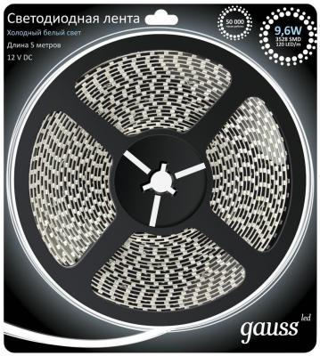 Лента светодиодная Gauss 312000310 LED 9.6W лента светодиодная gauss 311000414