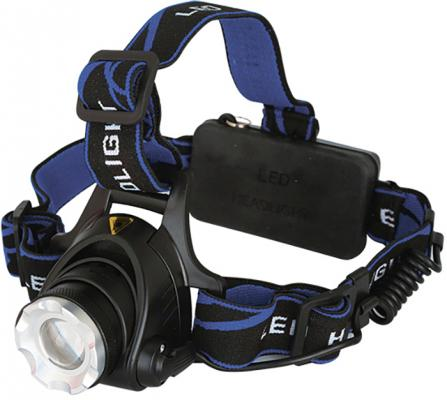 Фонарь налобный Ultraflash E150 чёрный фонарь ultraflash led5374