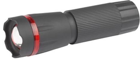 Фонарь ТРОФИ TP1W 1W LED  регулируемый фокус пластик 3xAAA