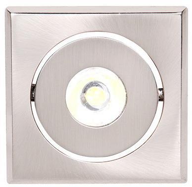Светильник HOROZ ELECTRIC HL670L64 LED мат.хром 1Вт 30000ч 65Лм 6400К 30х20х62мм 80° светильник horoz electric 400 012 107