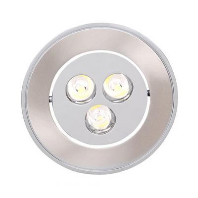Светильник HOROZ ELECTRIC HL673L27 LED 3Вт 30000ч 327Лм 2700К 60х20х93мм 80° спот horoz electric hl7180l