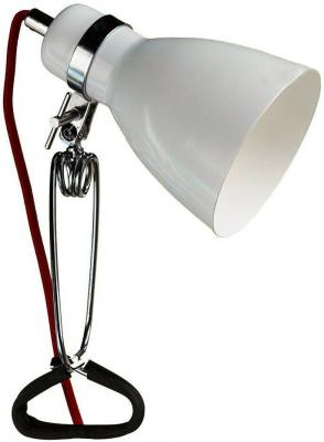 Настольная лампа ARTE LAMP DORM A1409LT-1WH  1х40W 1хE14 L11xW11xH34 металл/пластик металл