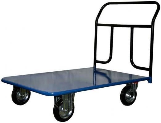Тележка СТЕЛЛА КП-150 500х800 125-И платформенная 4 колеса платформенная 4 х колесная тележка с фанерой стелла кпт 500 150 и