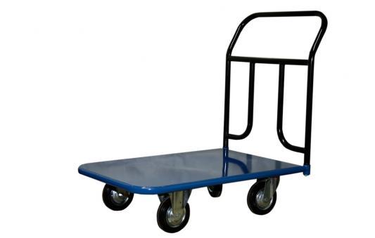 Тележка СТЕЛЛА КП-300 160-К 600х900 платформенная 4 колеса цена