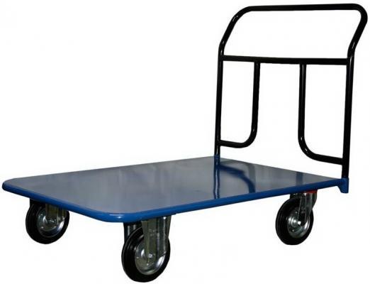 Тележка СТЕЛЛА КП-500 800х1200160-K платформенная 4 колеса платформенная 4 х колесная тележка с фанерой стелла кпт 500 150 и