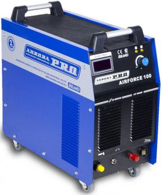 Инвертор AURORA PRO AIRFORCE 100 IGBT 380 В. при мак нагрузке 23.1 А. Толщина реза 40 мм. 220 л/ми