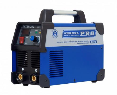 Инвертор сварочный AURORA PRO INTER 202 Mosfet MMA 5200Вт 43.6А IP21 395х153х301мм сварочный аппарат aurora pro inter tig 200 pulse