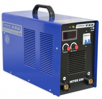 Инвертор сварочный AURORA PRO INTER 250 Mosfet 12.7кВт 220В ММА 20-250А сварочный аппарат aurora pro inter tig 200 pulse