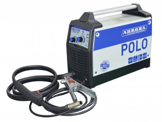 Сварочный синергетический полуавтомат AURORA POLO 160 IGBT 4,9 кВт, 220В, 0.6-0.8 мм, 5,5 кг
