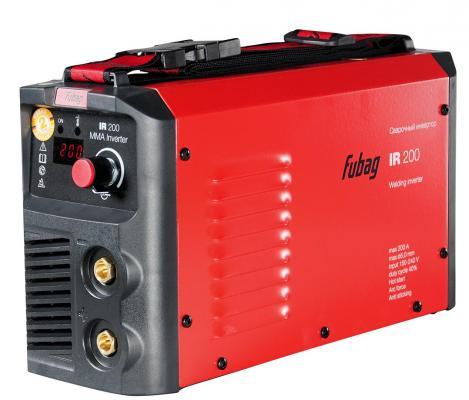 Инвертор сварочный FUBAG IR 200 V.R.D. 30-200А раб. напряжение 150-240В 2.7кг сварочный инвертор fubag ir 180