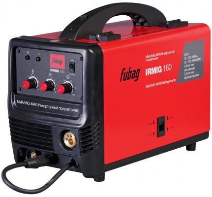 Сварочный полуавтомат FUBAG IRMIG 160 38607 + горелка FB 150 3 м инвертор аксессуар газовое сопло fubag d 12 0mm 10шт fb 150 f145 0075