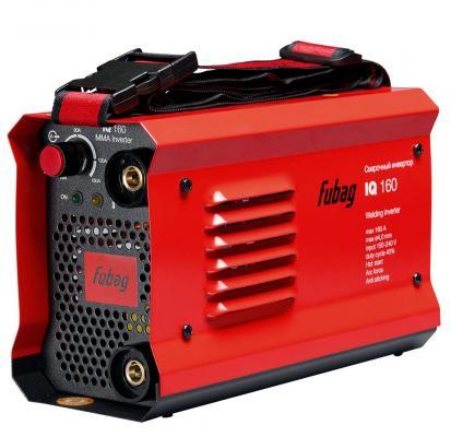 Инвертор сварочный FUBAG IQ 160 20-160А раб.напряжение 150-240В 2.7кг инвертор сварочный ресанта саи 160 190 240в 10 160а 1 0 4 0мм