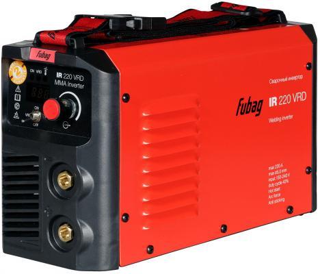 Инвертор сварочный FUBAG IR 220 V.R.D. 150-240В 30-220А 1.6-5мм ПВ40% 4.64кг цена