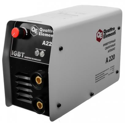 Сварочный инвертор Quattro Elementi ELEMENTI A 220 нагреватель воздуха газовый quattro elementi qe 10g 911 536