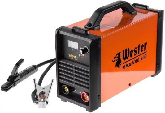 Инвертор сварочный WESTER MMA-VRD 200 10-200A 120-260B ПВ70% 1.6-5.0мм fall proof lairui 5 lines 6 points laser level self leveling 360 degree rotary cross laser line level outdoor mode and tilt mode