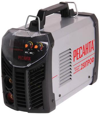 Инвертор сварочный РЕСАНТА САИ 250 ПРОФ 100-260В 10-250А 1,0-6,0мм сварочное оборудование ресанта саи 250