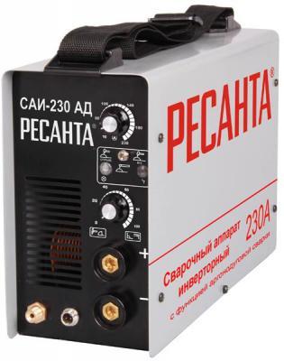 цена на Сварочный аппарат инверторный РЕСАНТА САИ-230-АД TIG+ММА 220В 10-230А 70% 360х135х232мм