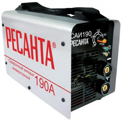 цена на Инвертор сварочный РЕСАНТА САИ 190 140-240В 10-190А 1,0-5,0мм