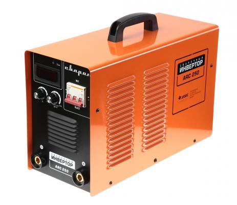 Инвертор сварочный СВАРОГ ARC 250 (R06) 7.5кВА 380В ММА 20-225А 1.6-5.0мм сварочный инвертор барс profi arc 257 d